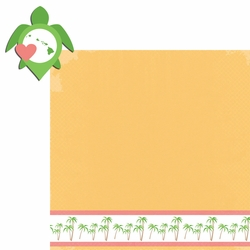 Hawaii Travels: HI Turtle 2 Piece Laser Die Cut Kit