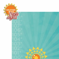 Heat Wave: Triple Digits 2 Piece Laser Die Cut Kit