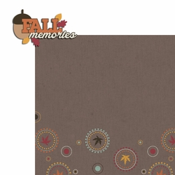 Hello Fall: Fall Memories 2 Piece Laser Die Cut Kit