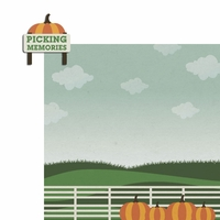 Hello Fall: Picking Memories 2 Piece Laser Die Cut Kit