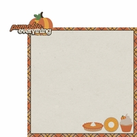 Hello Fall: Pumpkin Everything 2 Piece Laser Die Cut Kit