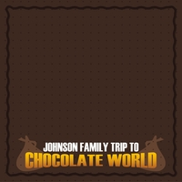 Hershey World: Custom Chocolate World 12 x 12 Paper