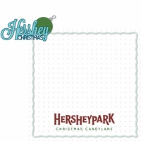 Hershey World: Hershey Christmas 2 Piece Laser Die Cut Kit
