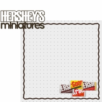Hershey World: Hershey Miniatures 2 Piece Laser Die Cut Kit