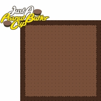 Hershey World: Peanut Butter Cup 2 Piece Laser Die Cut Kit