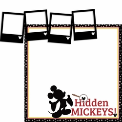 Hidden Mickey Page Layout