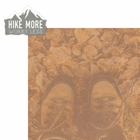 Hiking: Hike More 2 Piece Laser Die Cut Kit