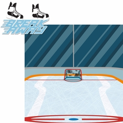 2SYT Hockey: Break Away 2 Piece Laser Die Cut Kit