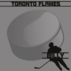 Hockey Custom 12 x 12 Paper
