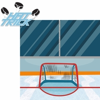 Hockey: Hat Trick 2 Piece Laser Die Cut Kit