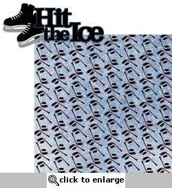 Hockey: Hit The Ice 2 Piece Laser Die Cut Kit