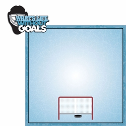 Hockey Life: Goals 2 Piece Laser Die Cut Kit