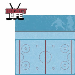 Hockey Life: Hockey Life 2 Piece Laser Die Cut Kit