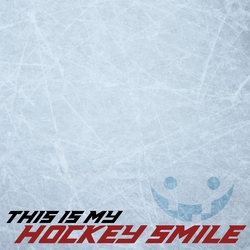 Hockey: This Is My Hockey Smile 12 x 12 Paper