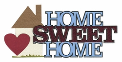 2SYT Home Sweet Home Laser Die Cut