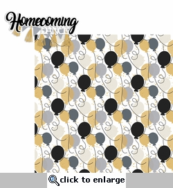 Homecoming: Dance 2 Piece Laser Die Cut Kit