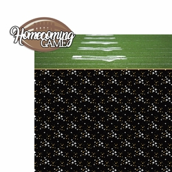 2SYT Homecoming: Homecoming Game 2 Piece Laser Die Cut Kit