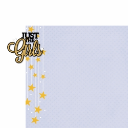 Homecoming: Just The Girls 2 Piece Laser Die Cut Kit
