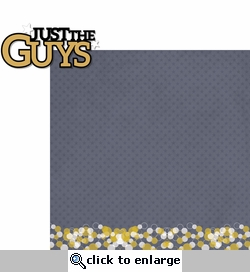 Homecoming: Just The Guys 2 Piece Laser Die Cut Kit