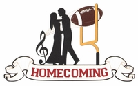 Homecoming Laser Die Cut