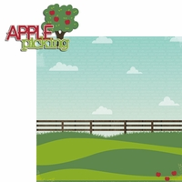 Honeycrisp: Apple Picking 2 Piece Laser Die Cut Kit