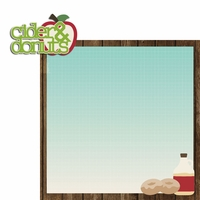 Honeycrisp: Cider and Donuts 2 Piece Laser Die Cut Kit