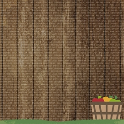 Honeycrisp: Pick your own 12 x 12 Paper