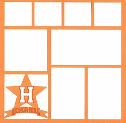 Honor Roll 12 x 12 Overlay Laser Die Cut