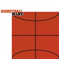Hoop Star: Basketball Is Life 2 Piece Laser Die Cut Kit