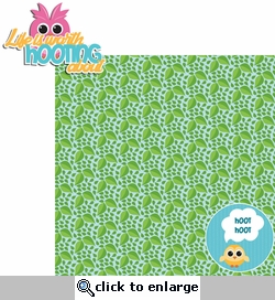 1SYT Hoot: Life is worth hooting about 2 Piece Laser Die Cut Kit