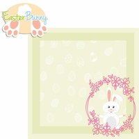 Hoppy Easter: Easter Bunny 2 Piece Laser Die Cut Kit
