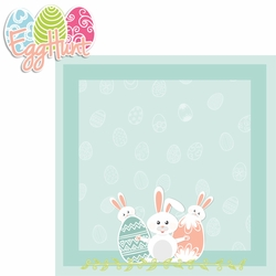 Hoppy Easter: Egg Hunt 2 Piece Laser Die Cut Kit
