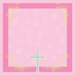 Hoppy Easter: He Is Risen 12 x 12 Paper