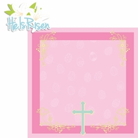 Hoppy Easter: He Is Risen 2 Piece Laser Die Cut Kit