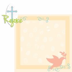 Hoppy Easter: Rejoice 2 Piece Laser Die Cut Kit