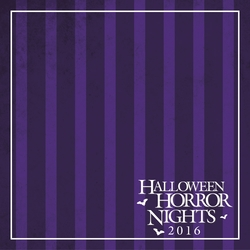 Horror Nights: Custom 12 x 12 Paper