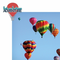 Hot Air Balloon 2 Piece Laser Die Cut Kit