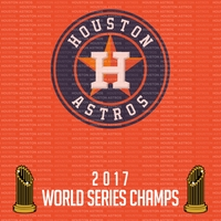 Houston Astros 2017 Champs 12 x 12 Paper
