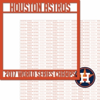Houston Astros 2017 Champs Overlay Quick Page Laser Die Cut