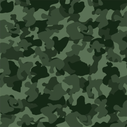 1SYT Hunting Season: Green Camo 12 x 12 Paper