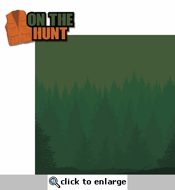 Hunting Season: On The Hunt 2 Piece Laser Die Cut Kit