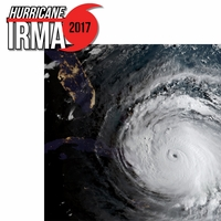 Hurricane Irma 2017 2 Piece Laser Die Cut Kit