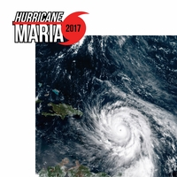 Hurricane Maria 2017 2 Piece Laser Die Cut Kit