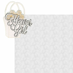 I Do: Flower Girl 2 Piece Laser Die Cut Kit