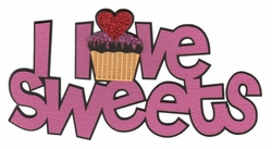 2SYT I Love Sweets Laser Die Cut