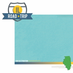 2SYT Illinois: IL Road Trip  2 Piece Laser Die Cut Kit
