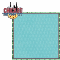 Illinois: IL Windy City  2 Piece Laser Die Cut Kit