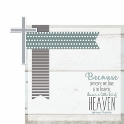 In Memory: Little Bit of Heaven 2 Piece Laser Die Cut Kit