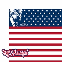 Inauguration 2017: 45th President 2 Piece Laser Die Cut Kit