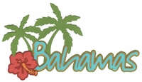 International: Bahamas Laser Die Cut